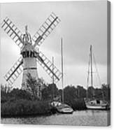 Thurne Windmill II Canvas Print