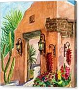 Tia Rosa Time Canvas Print