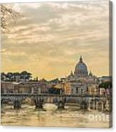 Tiber River Canvas Print
