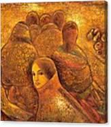 Tibet Golden Times Canvas Print