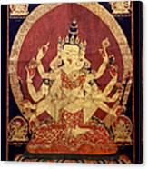 Tibetan Art Canvas Print
