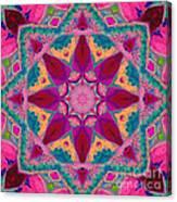 Tibetan Rose Canvas Print