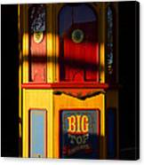 Ticket To The Big Top Canvas Print