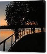 Tidal Basin Sunset0259 Canvas Print