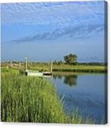 Tidal Marsh Wrightsville Beach Canvas Print