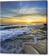 Tidal Waves Canvas Print