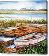 Tides Out Canvas Print