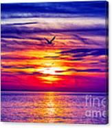 Tie Dyed Sky Canvas Print