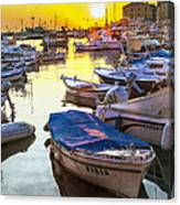 Tied Up In Rovinj Canvas Print