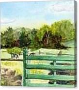 Tiffany Farms East Gate Canvas Print