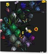 Tiffany Floral Design Canvas Print