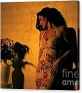 Tiffany Vase Canvas Print