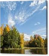 Tiffin Fall Canvas Print