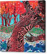 Tiger Lady Canvas Print