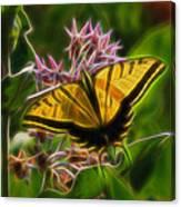 Tiger Swallowtail Digital Art Canvas Print