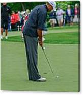 D12w-457 Tiger Woods Canvas Print