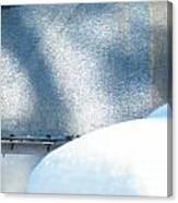 Tight Lipped Canvas Print