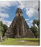 Tikal Pyramid 1j Canvas Print