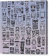 Tiki Cool Zone Canvas Print