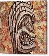 Tiki God Canvas Print