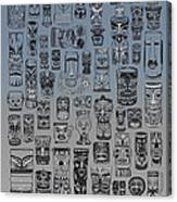 Tiki Nighttime Zone Canvas Print