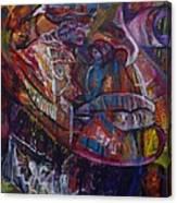 Tikor Woman Canvas Print
