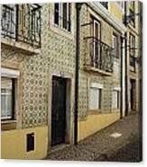 Tile Walls Of Lisbon Canvas Print