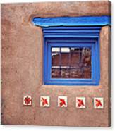 Tiles Below Window Canvas Print