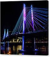 Tilikum Crossing On December 6 Canvas Print
