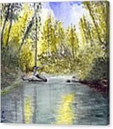 Tillamook Fishing Canvas Print