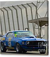 Tilley Racing Mustang Canvas Print