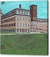 Tilton Boot And Shoe Company Canvas Print