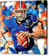 Tim Tebow Mr. Florida Gator Canvas Print