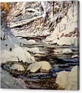 Timber Creek Winter Canvas Print