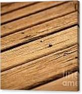 Timber Decking Canvas Print