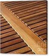 Timber Slats Canvas Print