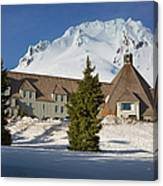 Timberline Lodge Canvas Print