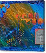 Time Abstract Canvas Print