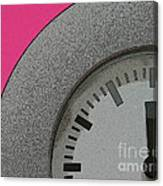 Time Clicks On Canvas Print