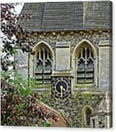 Time For Church Canvas Print