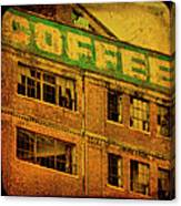 Time For Coffee Canvas Print