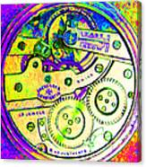Time In Abstract 20130605m144 Square Canvas Print