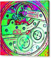 Time In Abstract 20130605m72 Square Canvas Print