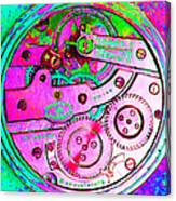 Time In Abstract 20130605p108 Square Canvas Print