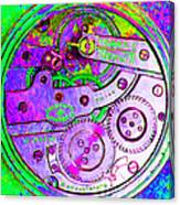 Time In Abstract 20130605p72 Square Canvas Print