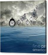 Time Is Floating Canvas Print