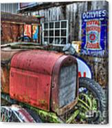 Time Marches On Canvas Print