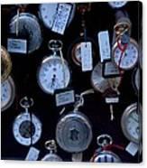 Time Piece Canvas Print