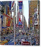 Time Square New York 20130503v5 Canvas Print