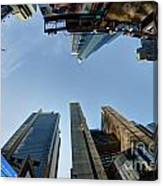 Time Square Sky View Canvas Print